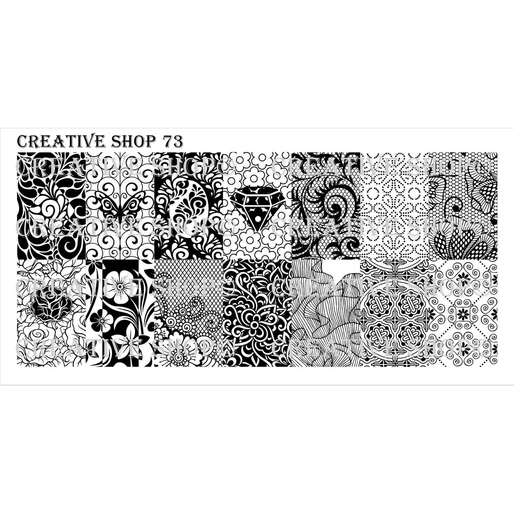 Creative Shop- Stamping Plate- 073