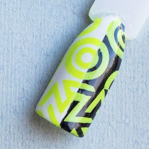 "Hit the Bottle ""Shazam Yellow"" Neon Stamping Polish"