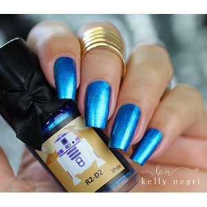 Esmaltes da Kelly- Star Wars- R2-D2