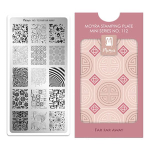 Moyra Mini Stamping Plate 112- Far Far Away