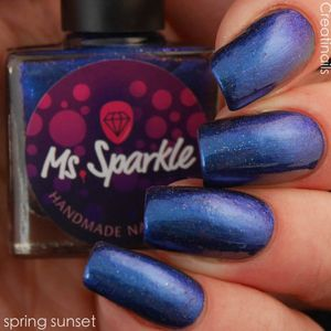 Ms. Sparkle- Spring 2017- Spring Sunset