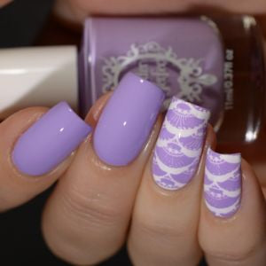 Powder Perfect- Stamping Polish - Lilac