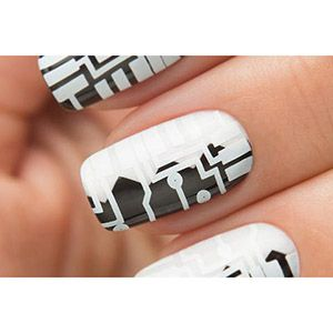 Dance Legend- Stamping Polish- White
