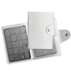 Moyra White Nail Stamping Plate Holder