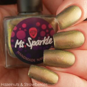 Ms. Sparkle- Spring 2017- Hazelnuts & Strawberries