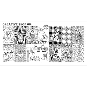 Creative Shop- Stamping Plate- 066