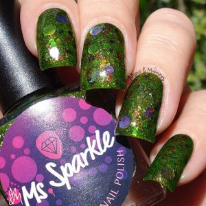 Ms. Sparkle- 3 Year Anniversary- Manis & Makeovers
