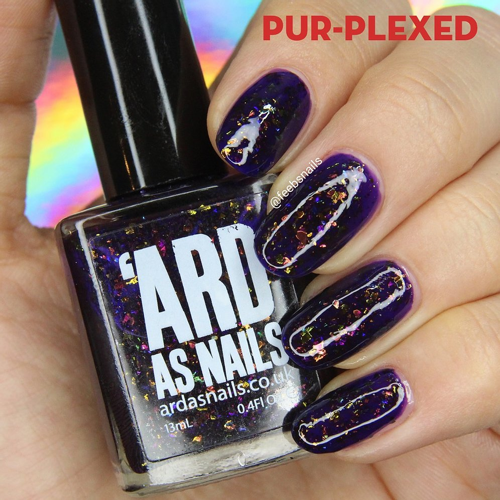 'Ard As Nails- Autumn Dreams- Pur-plexed