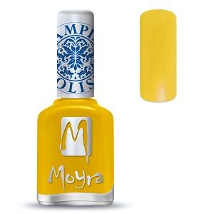 Moyra Stamping Nail Polish- No. 12 (Yellow)