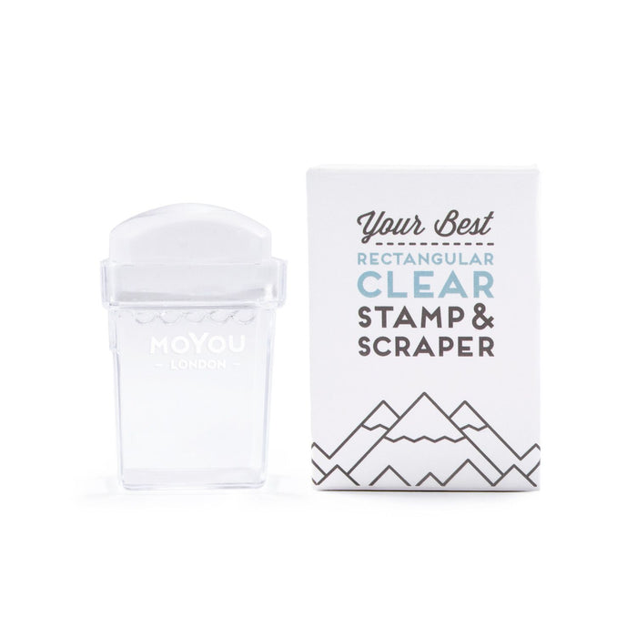MoYou London- Rectangular Clear Stamper