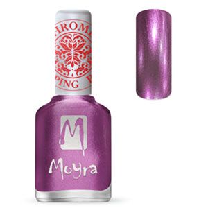 Moyra Stamping Nail Polish- No. 28 (Chrome Purple)