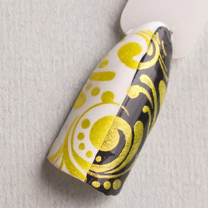 "Hit the Bottle ""Hello Buttercup"" Stamping Polish"
