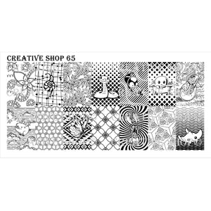 Creative Shop- Stamping Plate- 065