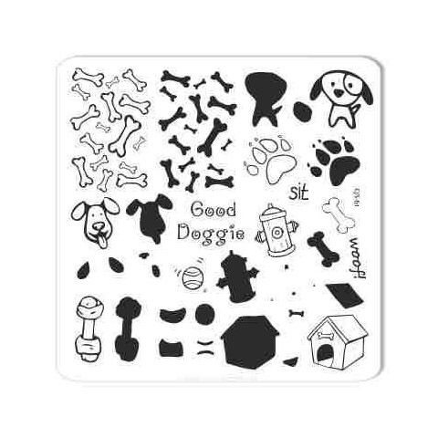 Clear Jelly Stamper- CjS-061- Woof