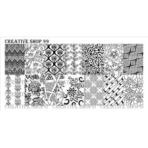 Creative Shop- Stamping Plate- 099