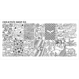 Creative Shop- Stamping Plate- 085