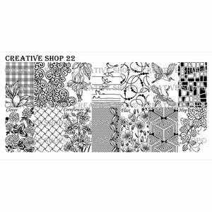 Creative Shop- Stamping Plate- 022