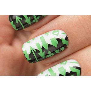 Dance Legend- Stamping Polish- Green