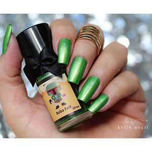 Esmaltes da Kelly- Star Wars- Boba Fett