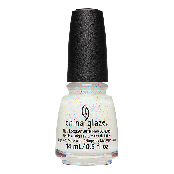 China Glaze- White Hot- Spritzer Sister