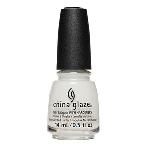 China Glaze- White Hot- Off White, On Point
