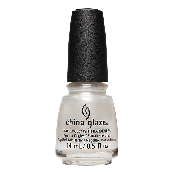 China Glaze- White Hot- Pearl Talk