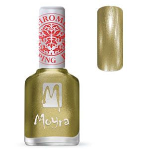 Moyra Stamping Nail Polish- No. 24 (Chrome Gold)
