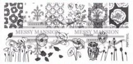 Messy Mansion MM Series XL Stamping Plates XL78
