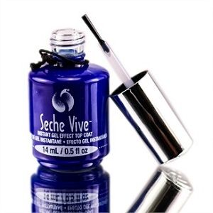 Seche- Vive Instant Gel Effect Top Coat- 0.5oz