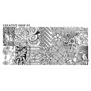 Creative Shop- Stamping Plate- 082