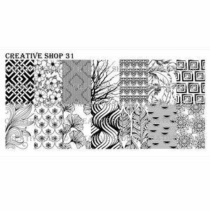 Creative Shop- Stamping Plate- 031