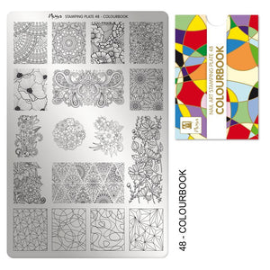 Moyra Stamping Plate 48- Colour Book