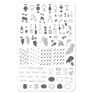 Clear Jelly Stamper- A Friend With Wine (CjS LC-20)