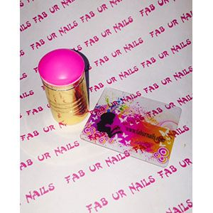 Fab Ur Nails- FUN XL Stamper Pink