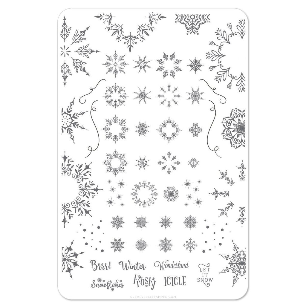 Clear Jelly Stamper- Let it Snow (CjSC-18)
