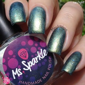 Ms. Sparkle- 3 Year Anniversary- Shifting Flakies
