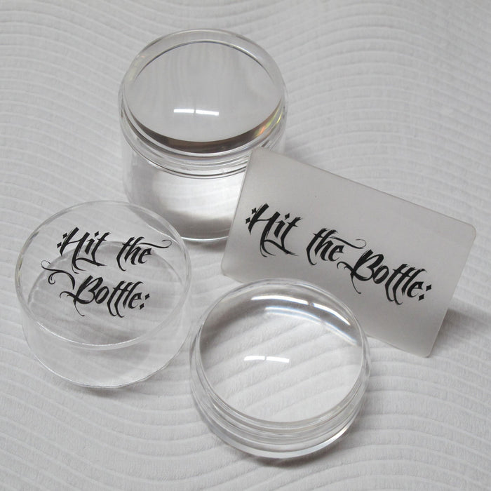 "Hit the Bottle- Accessories- ""Double Shot - No Ice"" Large Stamper"