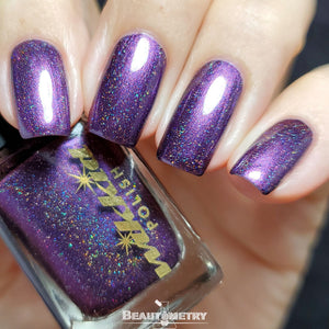 antimony holographic nail polish