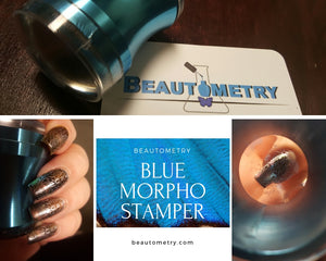 Beautometry Blue Morpho Clear Stamper