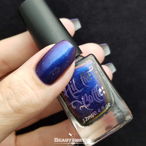 bowerbirds treasure multichrome nail polish bottle
