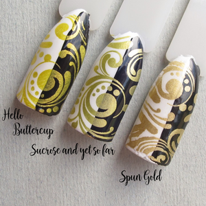 "Hit the Bottle ""Sucrose and yet so far"" Stamping Polish"