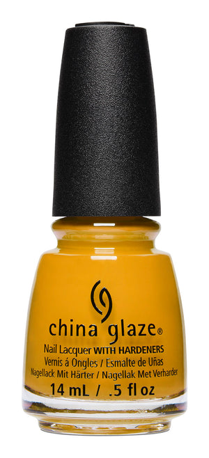China Glaze- Ready to Wear- Mustard the Courage
