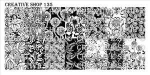 Creative Shop- Stamping Plate- 135