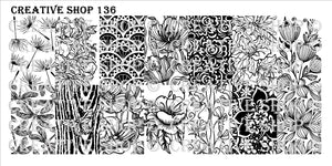 Creative Shop- Stamping Plate- 136