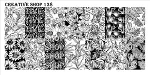 Creative Shop- Stamping Plate- 138