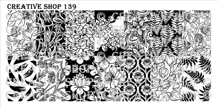Creative Shop- Stamping Plate- 139