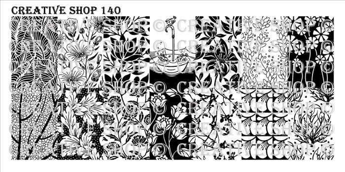 Creative Shop- Stamping Plate- 140