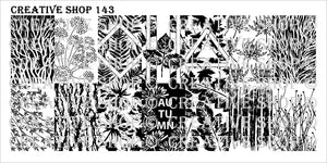 Creative Shop- Stamping Plate- 143