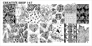 Creative Shop- Stamping Plate- 147