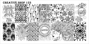 Creative Shop- Stamping Plate- 153